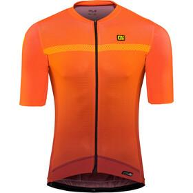Alé Cycling PRS Fade Maillot manches courtes Homme, bordeaux-flou orange
